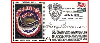 Wrigley Field 1st Night Game (Harry Grossman)
