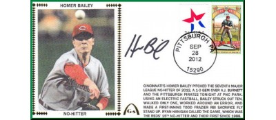 Bailey, Homer 1st No-Hitter
