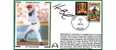 Bailey, Homer 2nd No-Hitter