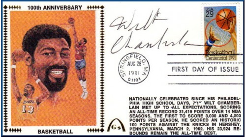 Chamberlain, Wilt (100th) SOLD OUT