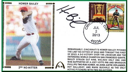 Bailey, Homer (2nd No-Hitter)