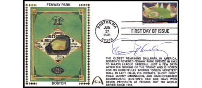 Legendary Playing Fields FDC Fenway Park (Hand Cancel) Jason Bay - ONLY TWO  LEFT- NO DISCOUNT