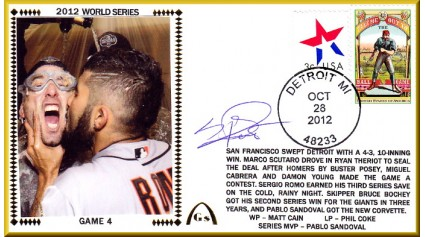 World Series 2012 San Francisco vs Detroit - Game 4 (ADD:Romo)