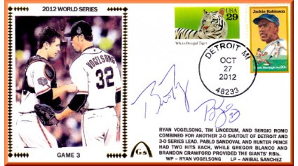World Series 2012 San Francisco vs Detroit - Game 3 (ADD:Posey/Vogelsong