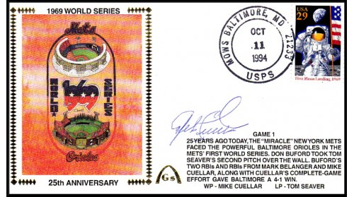 World Series 1969  Set (Mike Cuellar -Gm 1)