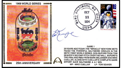 World Series 1969 (Ed Kranpool) -Gm 1)