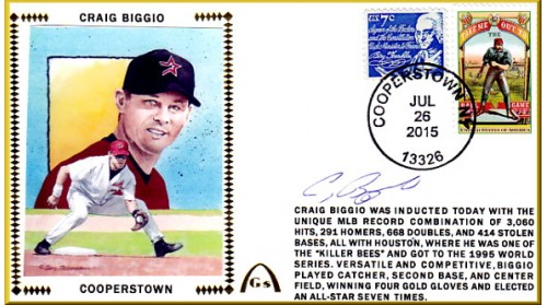Biggio, Craig Hall of Fame (SOLD OUT)