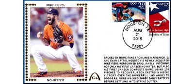 Fires, Mike No-Hitter (FEW REMAIN)