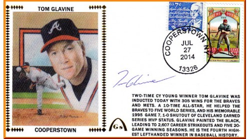 Glavine, Tom  Hall Of Fame (OUT OF STOCK)