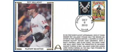 Halladay, Roy Playoff No-Hitter (Unautographed)