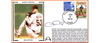 Heston, Chris No-Hitter (Pre-Order)