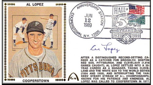 Lopez, Al 50th Anniversary Cooperstown