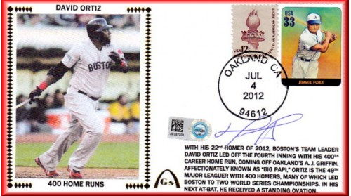 Ortiz, David 400 Homers