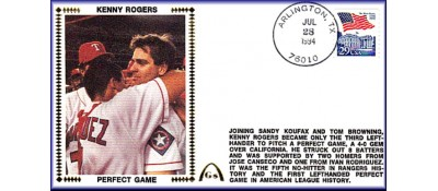 Rogers, Kenny Perfect Game - Unautographed  (IN STOCK)