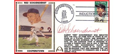 Schoendienst, Red Hall Of Fame (Autograph In Ink)