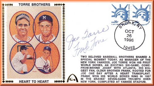 Torre, Joe/Torre, Frank (Heart To Heart)