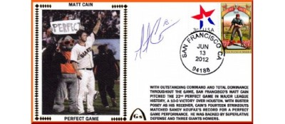 Cain, Matt (Perfect Game) ONLY ONE LEFT IN STOCK
