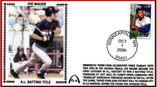 All-Star 2009 Joe Mauer (#6 Envelope)  Unautographed