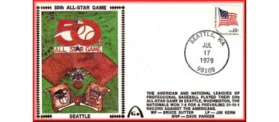 All-Star 1979  - Baseball Diamond Artpiece (Unautographed)