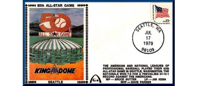 All-Star 1979  - Seattle Kingdome Artpiece (Unautographed)