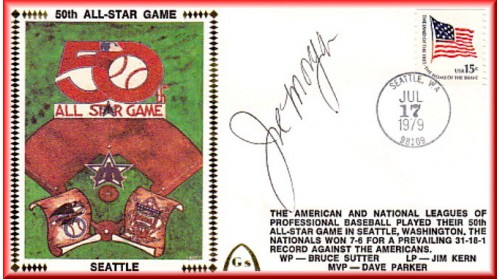 All-Star 1979 Autographed By Joe Morgan On Baseball Diamond (ONLY ONE- No Discount)