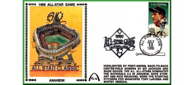 All-Star 1989 Artpiece (Unautographed