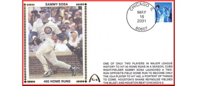 Sosa, Sammy 400 Home Runs -  Unautographed