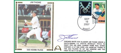 Thome, Jim 500 Home Runs  - Autographed (In Stock)