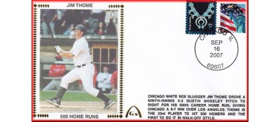 Thome, Jim 500 Home Runs  - Unautographed  (In Stock)