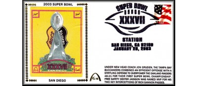 Super Bowl 2003 Artpiece (Unautographed)