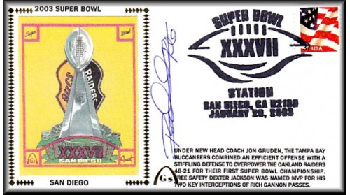 Super Bowl 2003 Artpiece (Woodson)