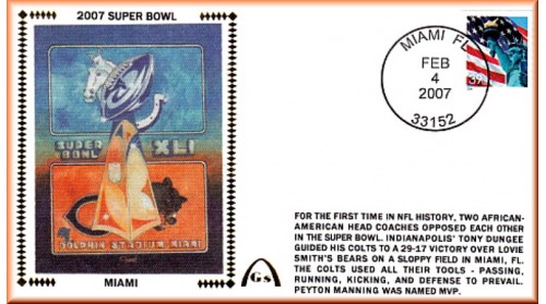 Super Bowl 2007 (Unautographed)