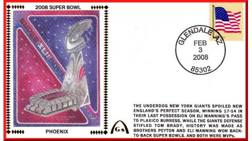 Super Bowl 2008 (Unautographed)