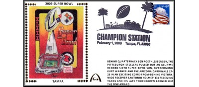 Super Bowl 2009 Artpiece #2 - Unautographed