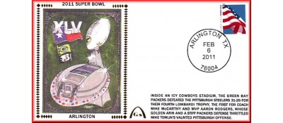 Super Bowl 2011 Artpiece (Unautographed)