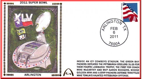 Super Bowl 2011 Artpiece - Unautographed