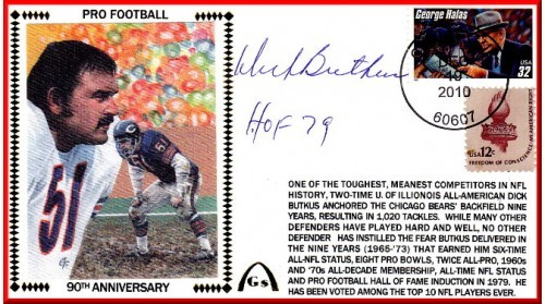 Butkus, Dick (90th Anniversary)   ONLY 3 Remain