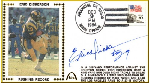 Dickerson, Eric (Rushing Rec)