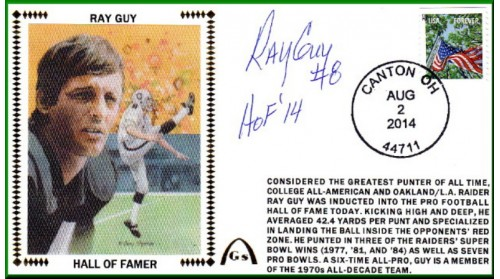 Guy, Ray  Hall Of Fame