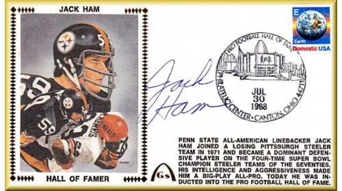 Ham, Jack Hall Of Fame, (A Little Of The Autographed Goes Into The Gold Box)