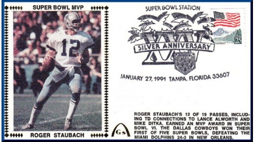 Staubach, Roger (MVP) Unautographed