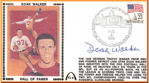 Walker, Doak Hall Of Fame (Regular Stamp)