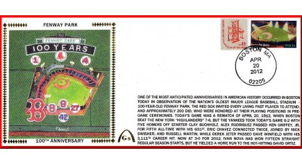 Fenway Park 100th Anniversary #10 (Unautographed)