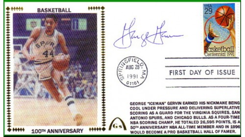 Gervin, George (100th Anniversary)