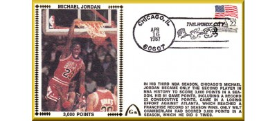 Jordan, Michael  (3.000 Points) UNAUTOGRAPHED