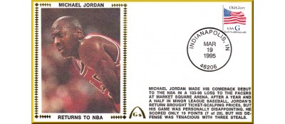 Jordan, Michael (Returns To NBA) - UNAUTOGRAPHED