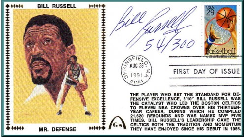 Russell, Bill (100th Ann)  SOLD OUT