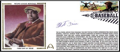 Negro League Hertiage FDC - Large #10  (Irvin/Newcombe-B)