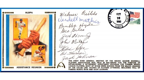 Negro League Players Assistance Reunion (Set Of 4)