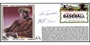 Negro League Hertiage FDC  - Large #10 (Newcombe/Irvin-C)